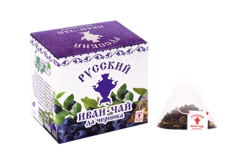 Russian Ivan-Tea & Bilberry, in pyramid tea bags