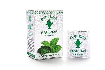 Russian Ivan-Tea & Mint Infusion, available in teabags