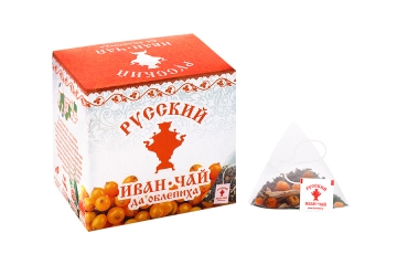 Russian Ivan-Tea & Sea Buckthorn, in pyramid tea bags