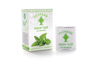 Russian Ivan-Tea & Bergamot Mint Infusion, available in teabags