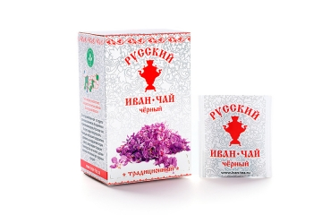 Russian Ivan-Tea Infusion, black tea, available in teabags
