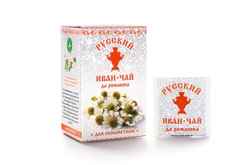 Russian Ivan-Tea & Camomile Infusion, available in teabags